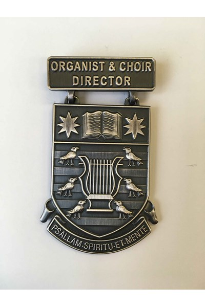 Organist & Choir Director Medal