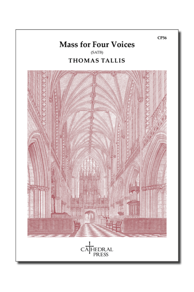 Tallis: Mass for Four Voices