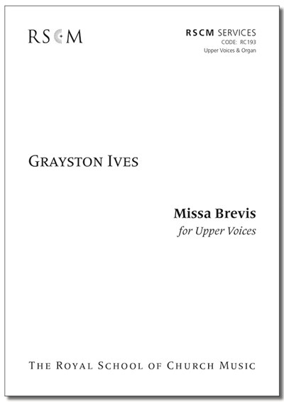 Ives: Missa Brevis for Upper Voices