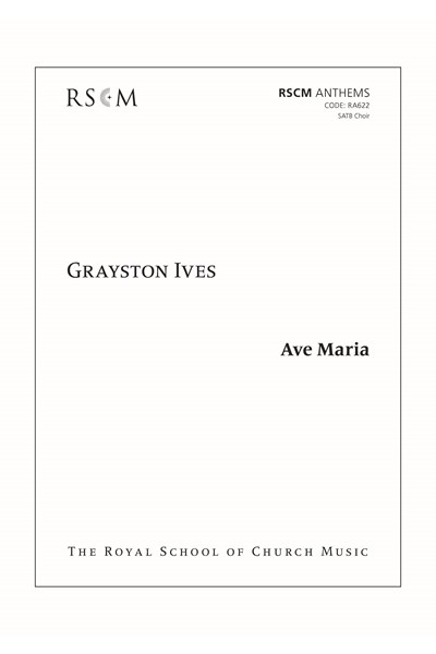 Ives: Ave Maria
