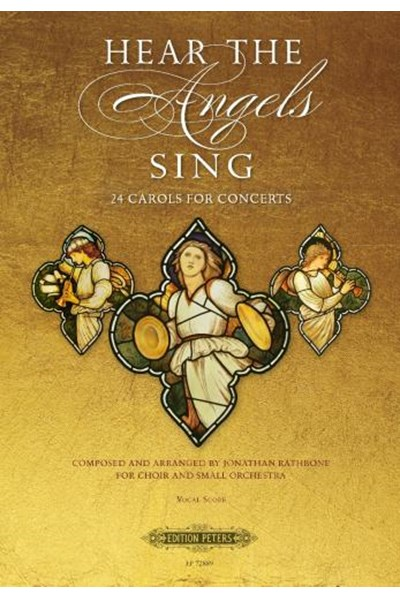 Hear the angels sing - 24 carols for concerts