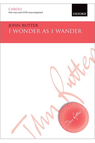 Rutter: I wonder as I wander