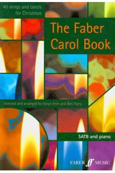 Faber Carol Book: SATB Accompanied