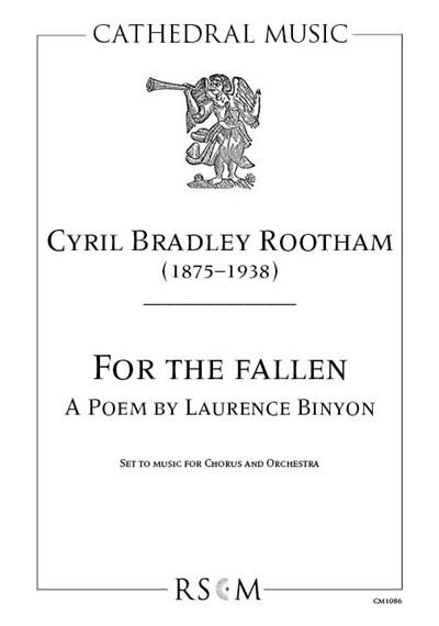 Rootham: For the Fallen Vocal Score