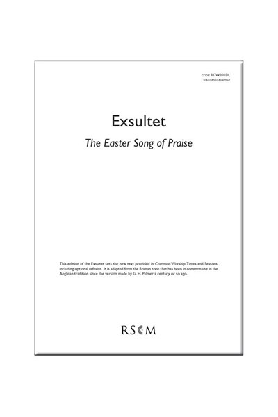 Exsultet - The Easter song of praise: digital download