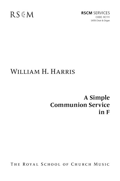 Harris: Simple Communion in F