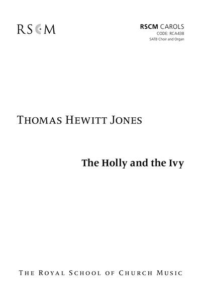 Hewitt Jones: The Holly and the Ivy SATB