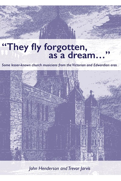 They fly forgotten, as a dream