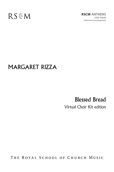Rizza: Blessed Bread – Virtual Choir Kit